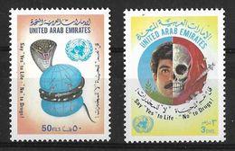 UNITED ARAB EMIRATES 1996 Anti Drugs - Drugs