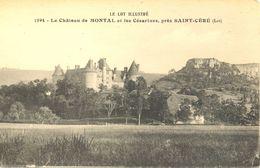 France - Lot - Saint Céré - Château De Montal Et Les Césarines - Librairie Vertuel St. Céré Nº 1594 - Dos Vert - 4650 - Saint-Céré