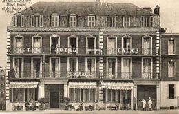 CPA - MERS-les-BAINS (80) - Aspect De L'Hôtel Royal Et Des Bains Au Début Du Siècle - Mers Les Bains