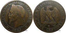 France - Second Empire - 5 Centimes Napoléon III, Tête Laurée - 1865 BB - B+ - Fra2794 - France