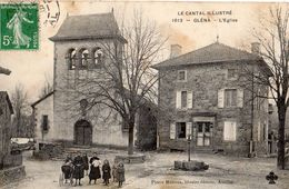 GLENAT L'EGLISE (FAUTE D'ORTHOGRAPHE EN LEGENDE GLENA) - France