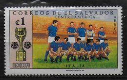 SALVADOR   PA  ( Italie )  * *    Cup 1970     Football  Soccer Fussball - Fußball-Weltmeisterschaft