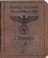 DOCUMENT III Reich. Nazi WW2 Germany.  Not Original - Documents