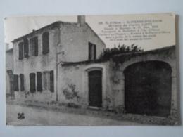 CHARENTE-MARITIME  Ile D'Oléron   St Pierre-d'Oléron  Maison De Pierre Loti - Otros Municipios