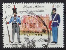 ITALIA 1987 The 200th Anniversary Of Nunziatella Military School. USADO - USED. - 1981-90: Usati