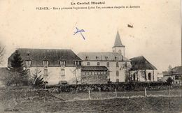 PLEAUX ECOLE PRIMAIRE SUPERIEURE (COTE EST) ANCIENNE CHAPELLE ET DORTOIRS - France