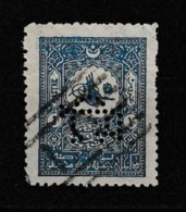 (OT) Ottoman Postal History Perfins Stamp - Used Stamps