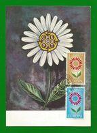 Espana / Spanien 1964 Mi.Nr. 1501 / 02 , Europa CEPT - Maximum Card - Primer Dia De Circulacion 14- SET.1964 - 1964