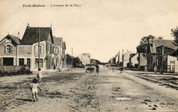 CPA - FORT-MAHON (80) - Aspect De L'avenue De La Plage En 1924 - Fort Mahon