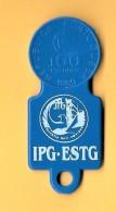 SHOPPING CART TOKEN / JETON DE CADDIE - IPG - ESTG / PORTUGAL / 01 - Trolley Token/Shopping Trolley Chip