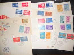 Collection , Lot De 30 Premiers Jours Europa - Stamps