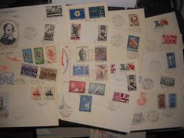 Collection , Lot De 50 Premiers Jours Italie Des Annees 60 - Stamps