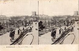 MARSEILLE VUE SUR LE PORT (REMAILLAGE DES FILETS ) CARTE PRECURSEUR - Vieux Port, Saint Victor, Le Panier