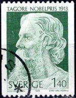 SWEDEN 1973 Nobel Prize Winners 1913 -1k.40, Rabindranath Tagore (literature)  FU - Sweden