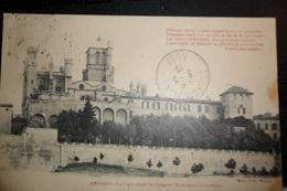 Carte Postale Ancienne (Béziers) - La Cathédrale St-Nazaire (Monument Historique) - Beziers