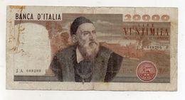 """Italia - Banconota Da Lire 20.000 """" Tiziano """" - Decreto 21.02.1975 - (FDC8415) - [ 2] 1946-… : Républic"""