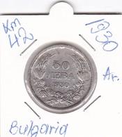 BULGARIA 50 LEVA 1930  KM-42 AG - Bulgaria