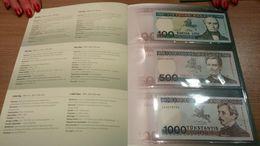 Lithuania SET 100 Litu 1994 + 500 + 1000 Litu 1991 UNC P. 50b, P. 51, P. 52 RARE! - Lithuania