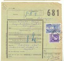 629 -België  Spoorweg Chemin De Fer   Document  Met Stempel HASSELT - Chemins De Fer