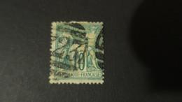 Sage N° 65 Obliteration  Anglaise GC 723 De Southampton (reste De Papier Au Verso ) - 1876-1878 Sage (Type I)