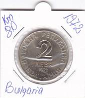 BULGARIA 2 LEVA 1972  KM-90 UNC-PROOF - Bulgaria