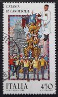 ITALIA 1986 Folk Celebration. USADO - USED. - 1981-90: Usati