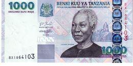 Tanzania P.36b 1000 Shillings 2003 Unc - Tanzania