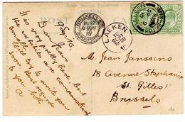 CP De London_Japan British Exhibition (09.09.1910) Pour Bruxelles Arrivée Laeken - 1902-1951 (Rois)