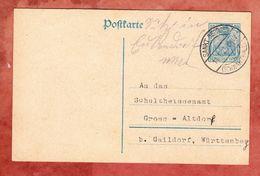 P 120 Germania, Sankt Georgen Nach Gross-Altdorf 1921 (47074) - Deutschland