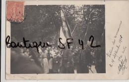 THILLOIS        CARTE PHOTO   N° 1  MANOEUVRE  SEPTEMBRE  1906 - France