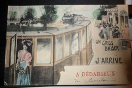 Carte Postale Ancienne (Hérault) - Bédarieux - Gare - Bedarieux