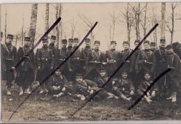 THILLOIS        CARTE PHOTO   N° 6  MANOEUVRE  SEPTEMBRE  1906 - France