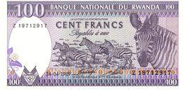 Rwanda P.19 100 Francs 1989 Unc - Rwanda