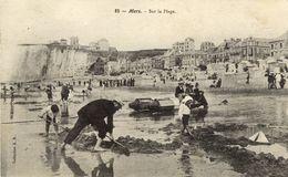 76)   MERS    -  Sur La Plage - Mers Les Bains