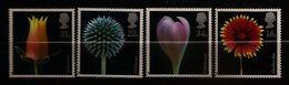 Grande-Bretagne 1987 N° 1256 / 9 ** Fleurs, Colchique, Echeveria, Chardon Bleu, Gaillarde, Safran, Botanique, Épineuses - Unused Stamps