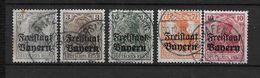LOTE 1654  ///  (C010)  ALEMANIA BAYERN    YVERT Nº: 136/140 - Bavaria