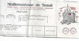 MEDITERRANEENNE DZ TRANSIT AVEC PAQUEBOT 1970 - 1950 - ...