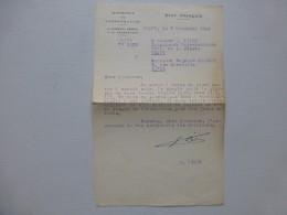 Edouard LIZOP Propagande Universitaire  VICHY 1943, Lettre  Avec Autographe à R. Charmet ; Ref 363VP38 - Autographs