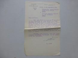 """Edouard LIZOP Propagande Universitaire  VICHY 1943, Lettre  """"communauté De Races"""" ; Ref 364VP38 - Autographs"""