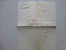 Edouard LIZOP Propagande Universitaire  VICHY 1943, Collège Chazeron Châtel-Guyon   ; Ref 365VP38 - Autographes