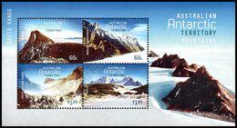 Australia (A.A.T.) 2013: Foglietto Montagne / Mountains S/S ** - Unused Stamps