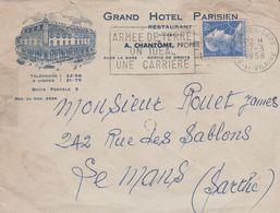 35 RENNES GRAND HOTEL PARISIEN A. CHANTOME - 1950 - ...
