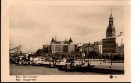 ! Alte S/w Ansichtskarte Riga, Lettland - Lettonie