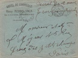 80 BOURBOURG  REMY REBBELYNCK HOTEL DU COMMERCE - France