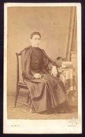 FOTOGRAFIA Padre FRANCISCO XAVIER De SOUSA 1868. Photographia M.FRITZ - PORTO. Old Photo W/Priest Portugal - Photos
