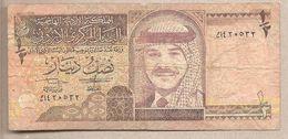 Giordania - Banconota Circolata Da 1/2 Dinaro P-28a - 1995 - Giordania