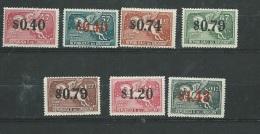 Uruguay - Aérien -  Série - Yvert N° 101 à 107  7 Valeurs **   -  Po58201 - Uruguay