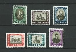 Nicaragua   - Aérien -  Série - Yvert N° 363   à   368     6   Valeurs **   -  Po58204 - Nicaragua