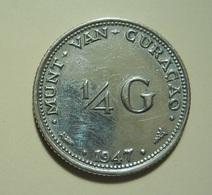 Curaçao 1/4 Gulden 1947 Silver - Curaçao