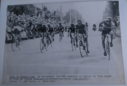 PHOTO - CYCLISME-TOUR DE FRANCE 1964 - JAN JANSSEN ( 13 Cm X 18 Cm) - Cycling